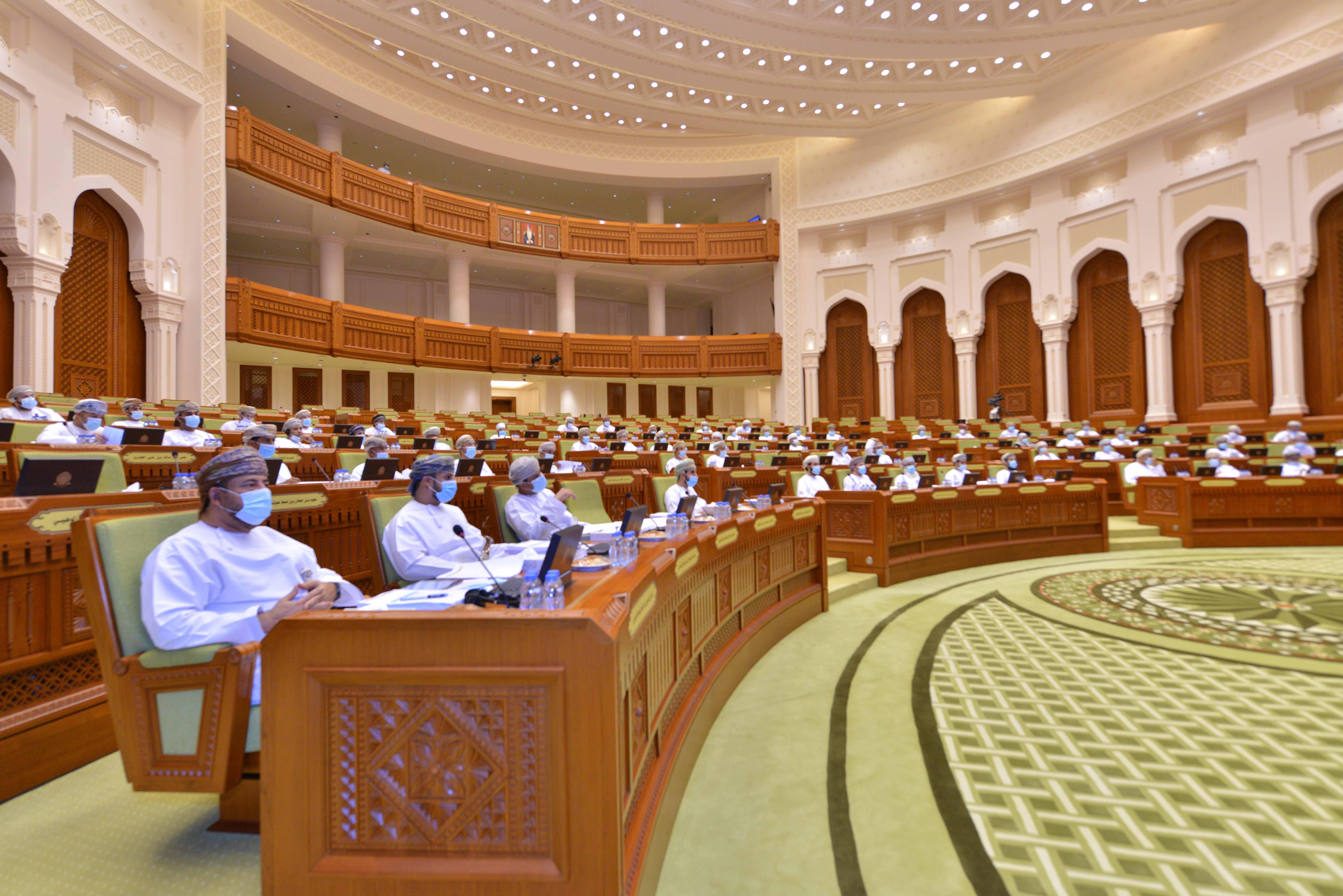 مجلس الشورى يناقش قانون الضريبة المضافة المحال من مجلس الوزراء
