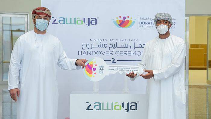 Zawaya Group hands over new Dorat Al Khaleej Private School building