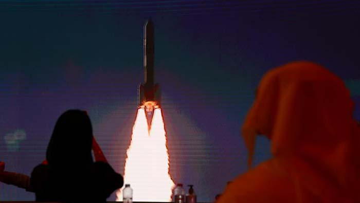 UAE launches Mars mission from Japan