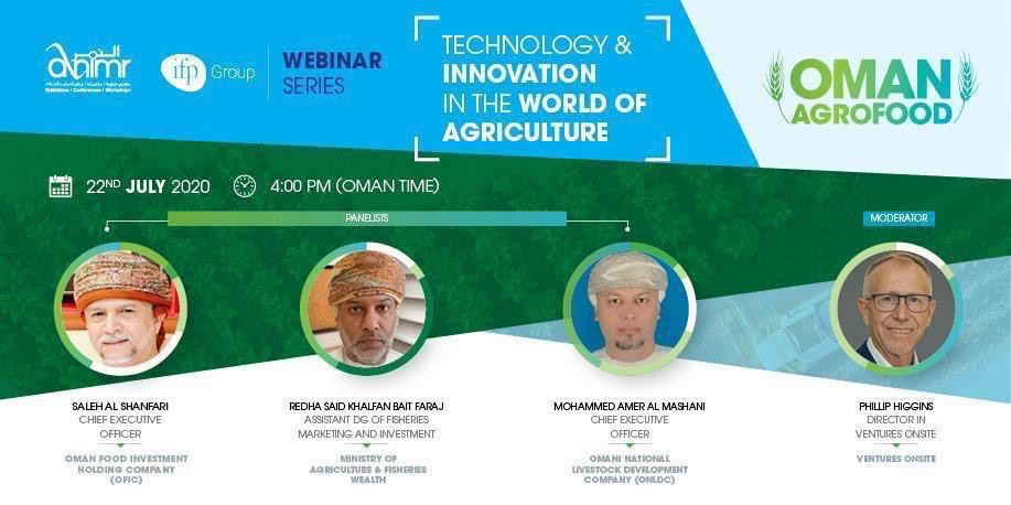 Webinar on agriculture to be held on Wednesday