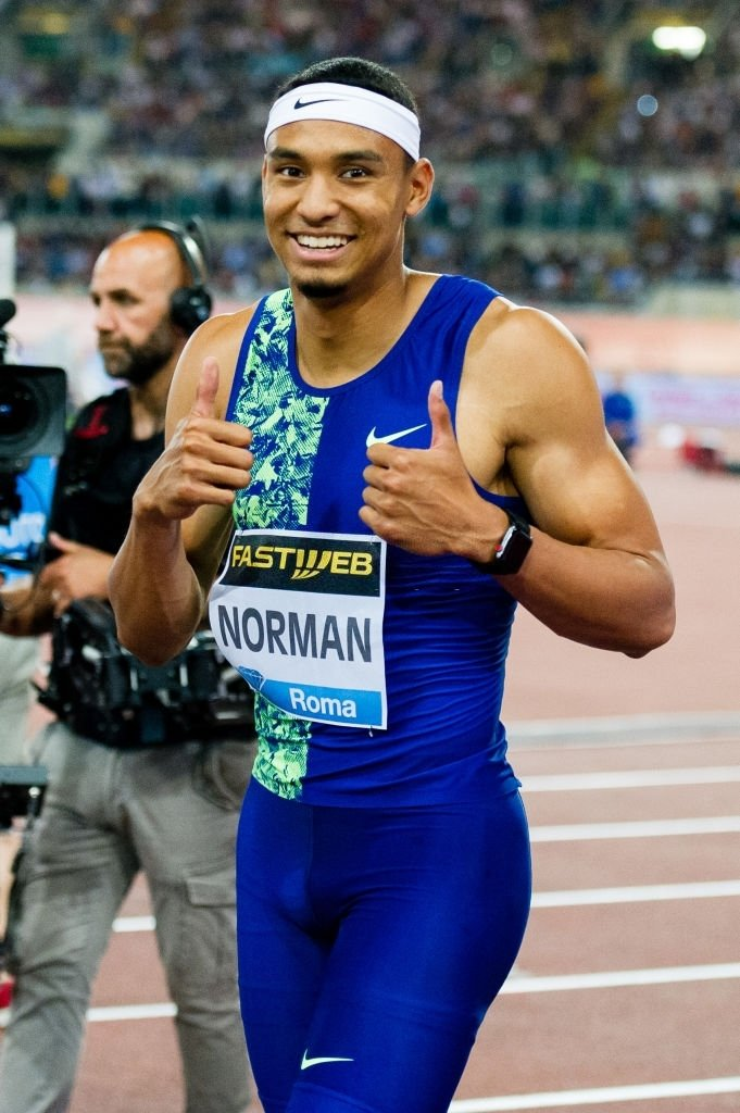 US sprinter Norman clocks 9.86s at local meet