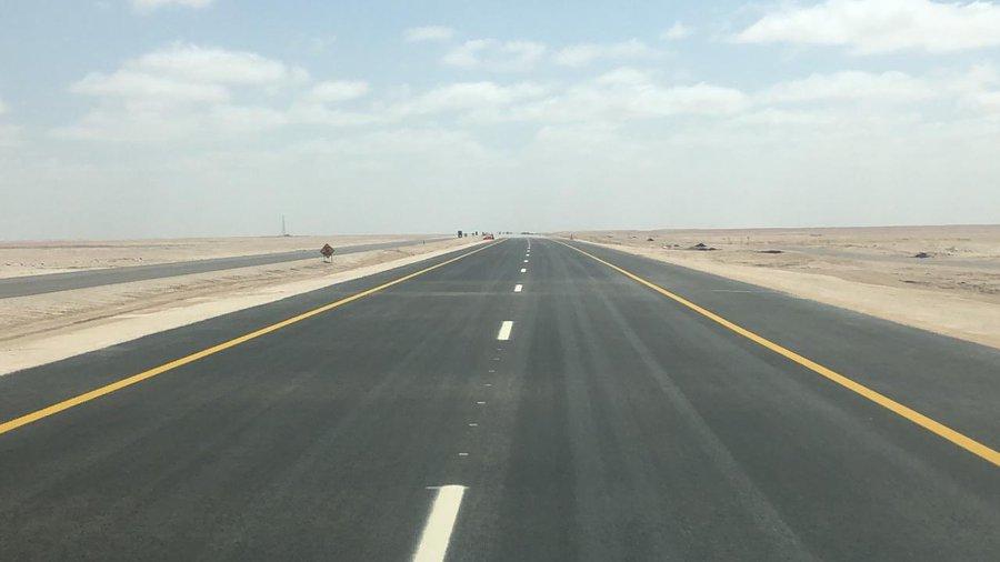 افتتاح  22 كم إضافية من مشروع إزدواجية طريق أدم -هيماء- ثمريت