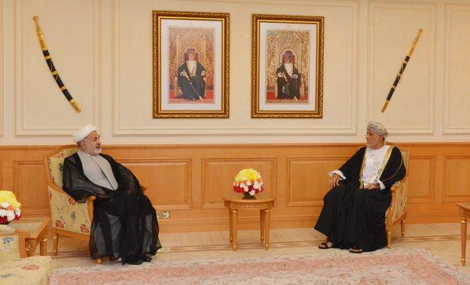 نيابة عن جلالة السلطان.. السيد شهاب يودع السفير الايراني والفلبيني