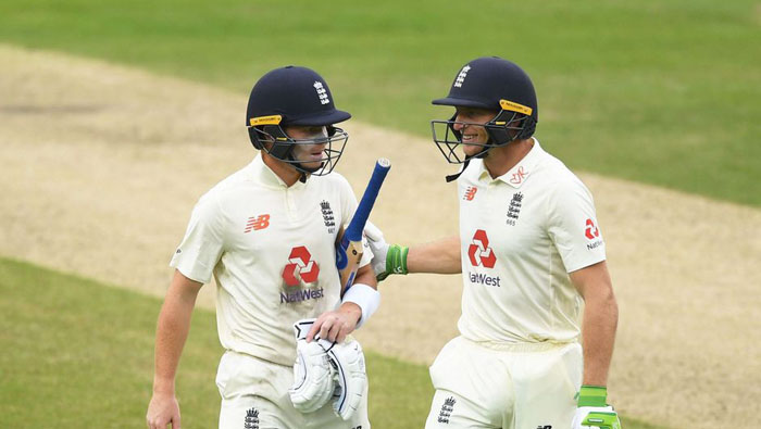 Pope and Buttler share opening day honours