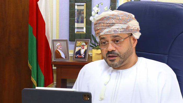 Sayyid Badr holds virtual meeting with ambassadors of Scandinavian countries