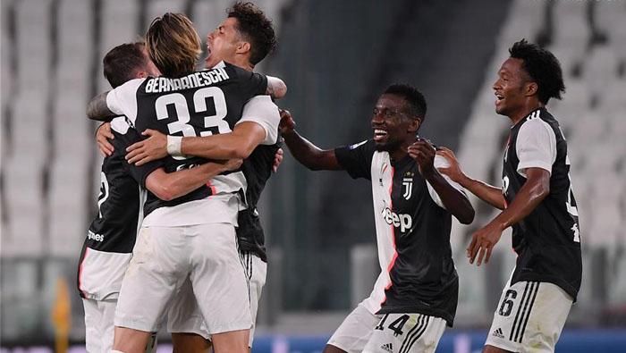 Juve win ninth consecutive Serie A title