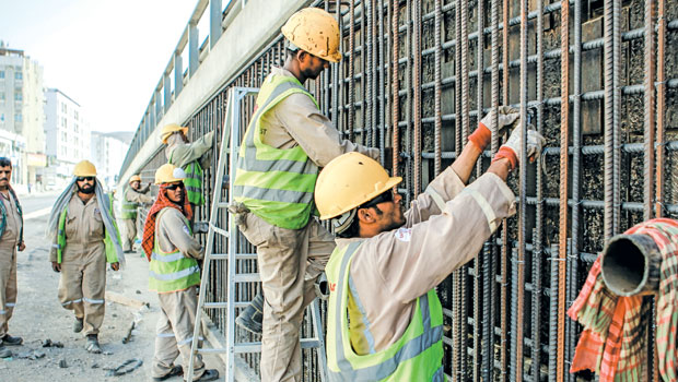 Expats now make up less than 40 per cent of Oman's population