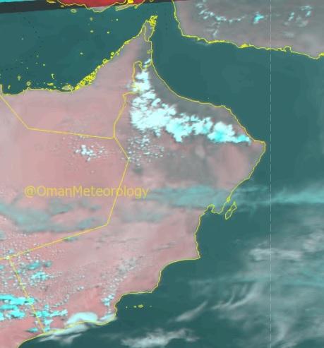 Thundershowers lash parts of Oman