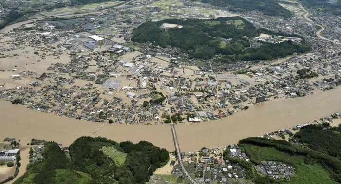 Several feared dead as torrential rains wreak havoc in Japan