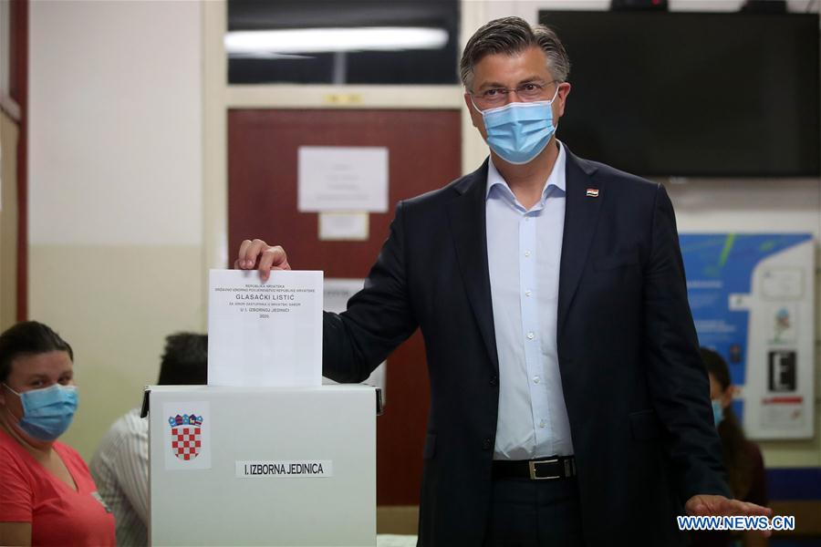 Croatia's ruling party wins most seats in parliamentary elections: Exit polls