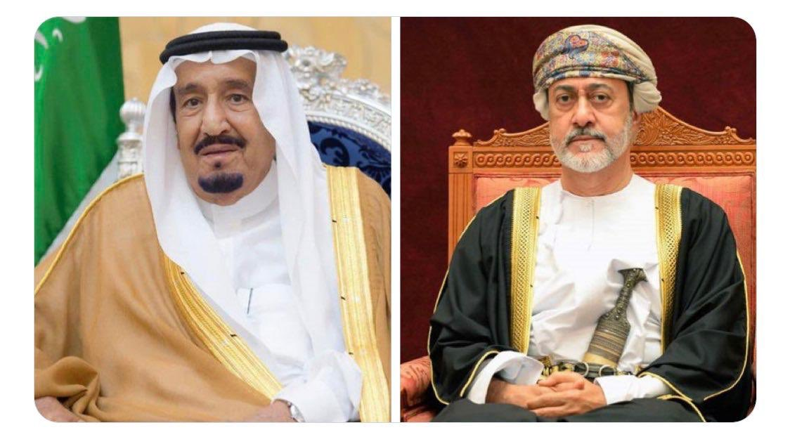 His Majesty exchanges Eid greetings with Saudi Arabia's King Salman