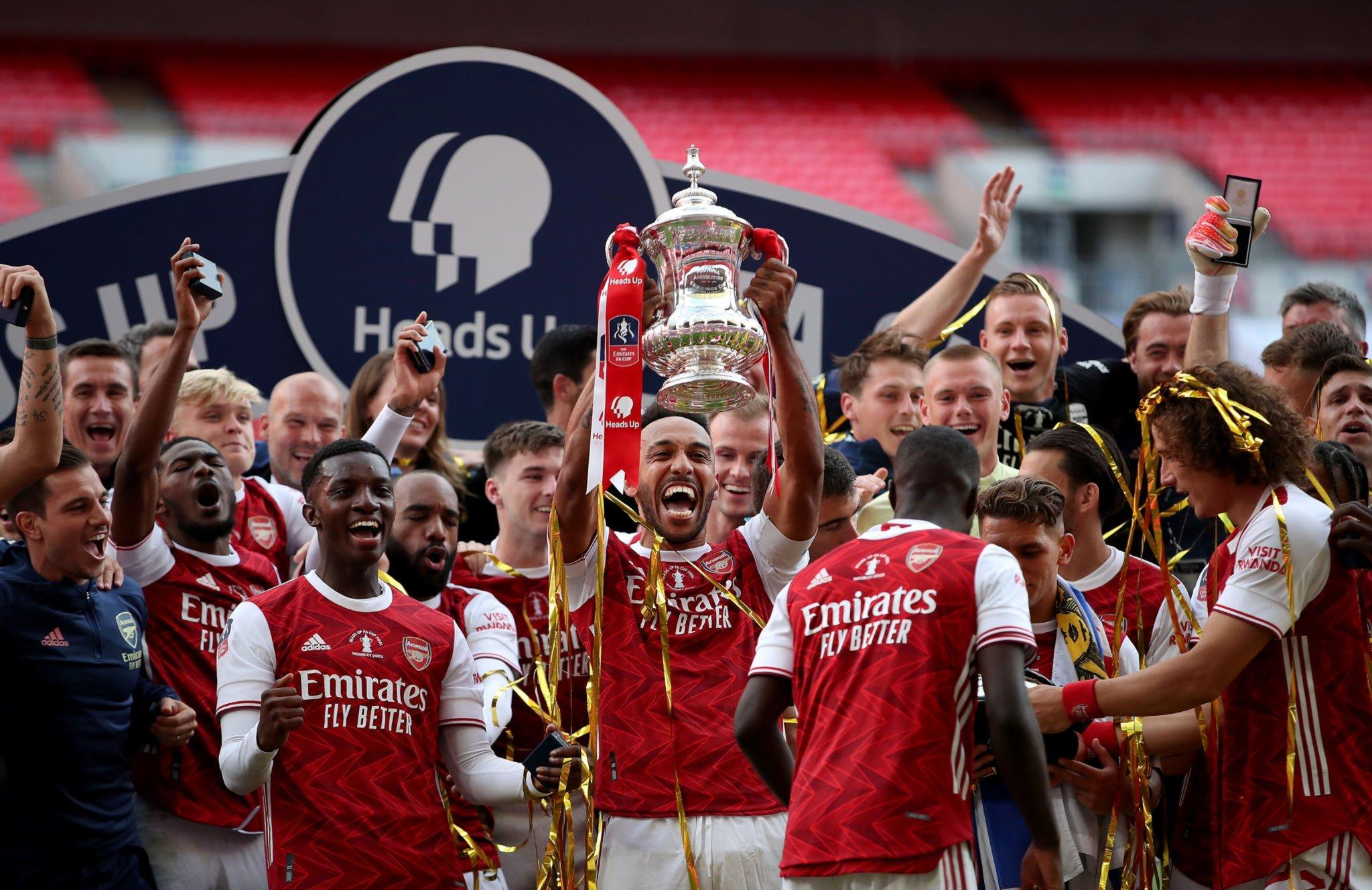 آرسنال  يتوج بلقب كأس الاتحاد الإنجليزي للمرة الـ14 في تاريخه