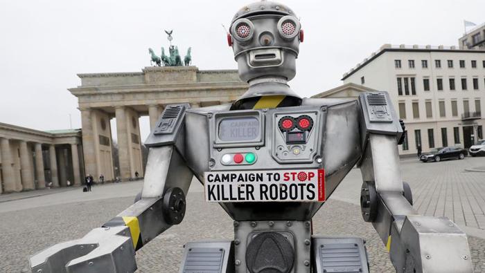 Human Rights Watch seeks treaty banning 'killer robots'