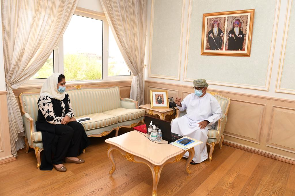 Oman's health minister takes part in COVID-19 meeting