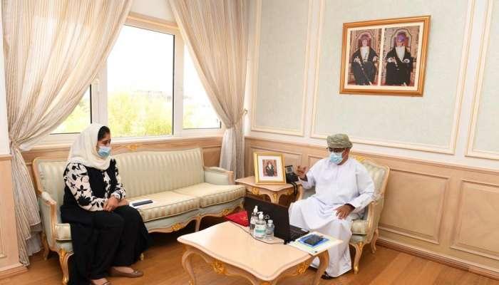 Al Saidi participates in virtual WHO regional meeting
