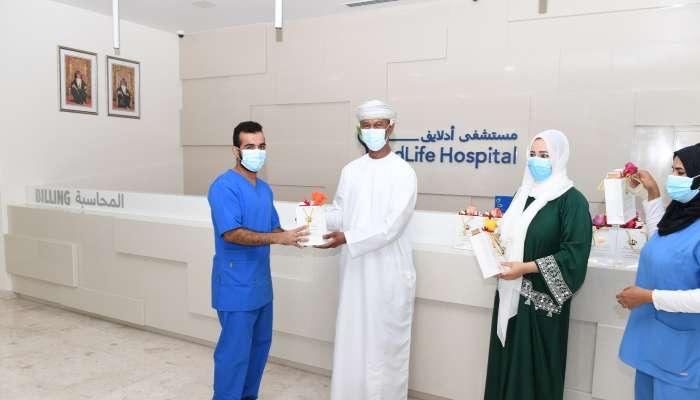AdLife Hospital volunteers honoured on World Humanitarian Day