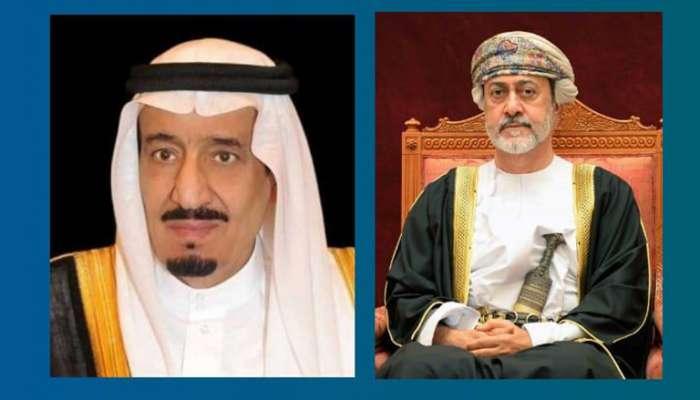 His Majesty, Saudi Arabia King exchange cordial conversation