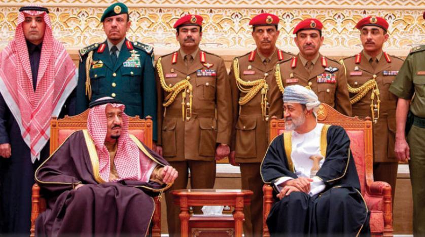 جلالة السلطان يتلقى اتصالاً هاتفياً من أخيه خادم الحرمين الشريفين