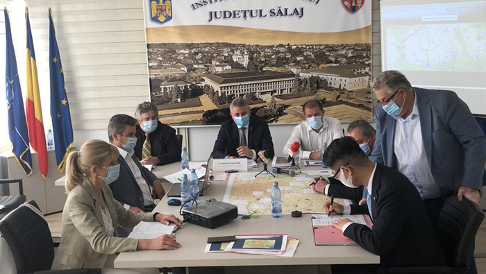 Chinese company signs contract for ring-road construction in Romania