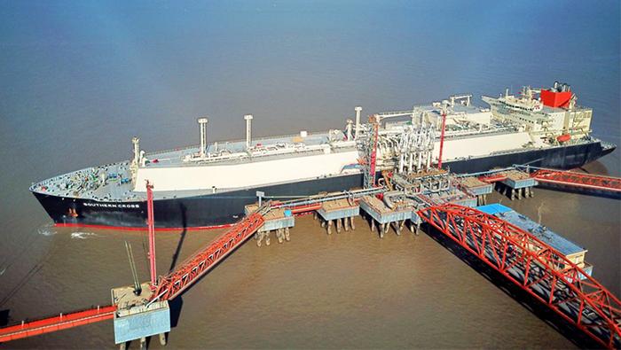 China starts trial run of online international LNG trade