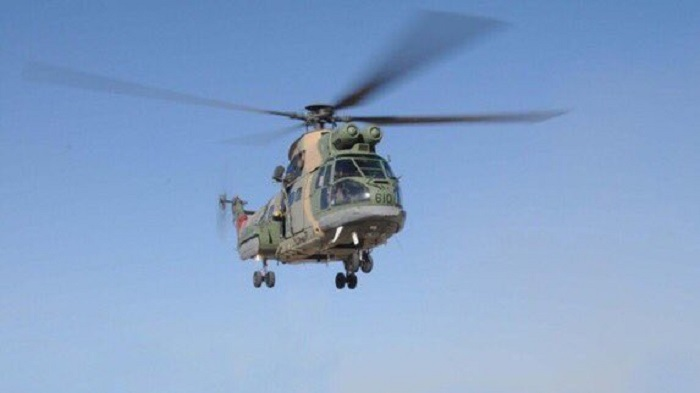 Oman's air force evacuates person injured in accident