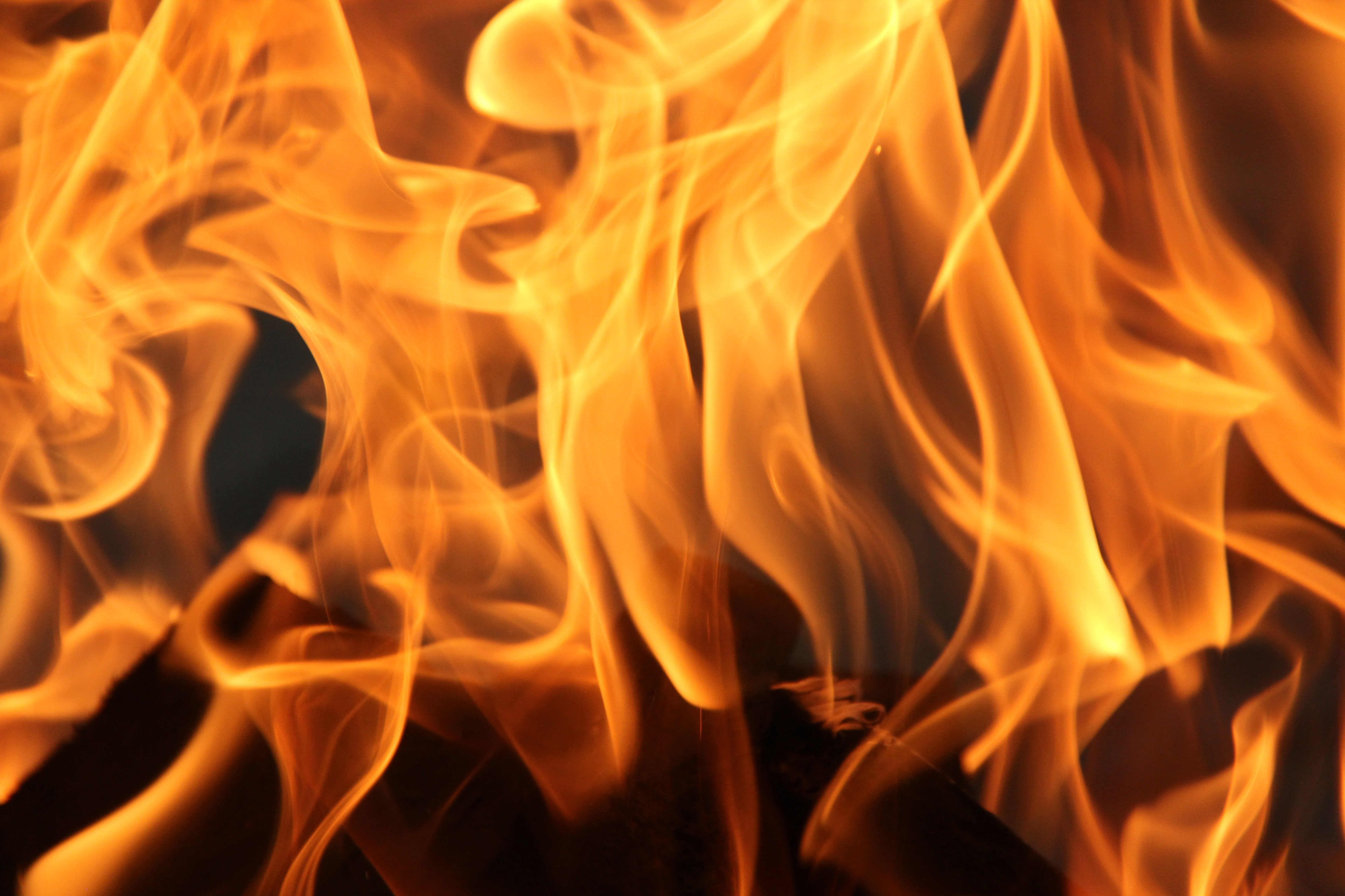 Wood waste catches fire in Musandam
