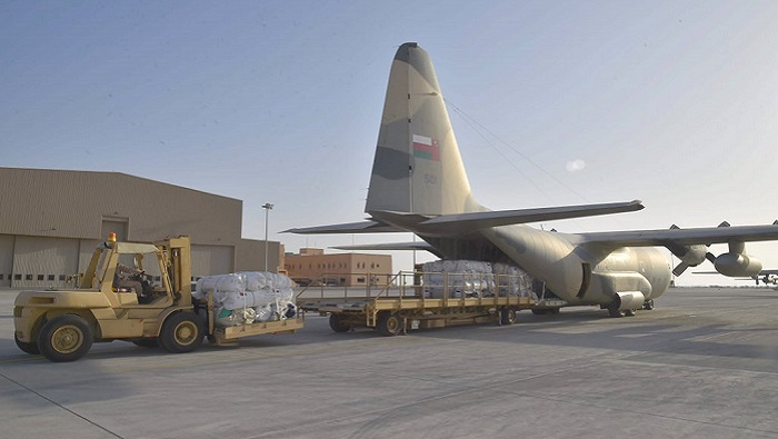 On directives of HM, Oman operates relief flights to Sudan