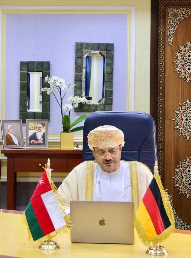 وزير الخارجية يترأس أعمال الدورة الـ 15 للجنة العمانية الألمانية