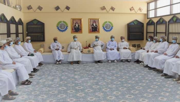 قيس اليوسف يلتقي بأعضاء مجلس إدارة غرفة تجارة وصناعة عُمان بعد انتهاء الانتخابات