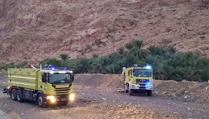 Fire at farm in Oman doused
