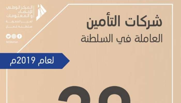 50 %  شركات وطنية .. تعرف على عدد شركات التأمين العاملة في السلطنة