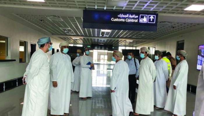 Duqm airport inspected ahead of October 1 reopening