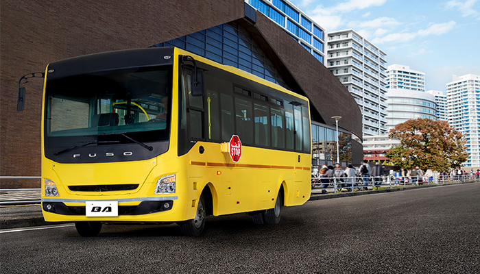 Sale of first DICV produced Fuso buses begin