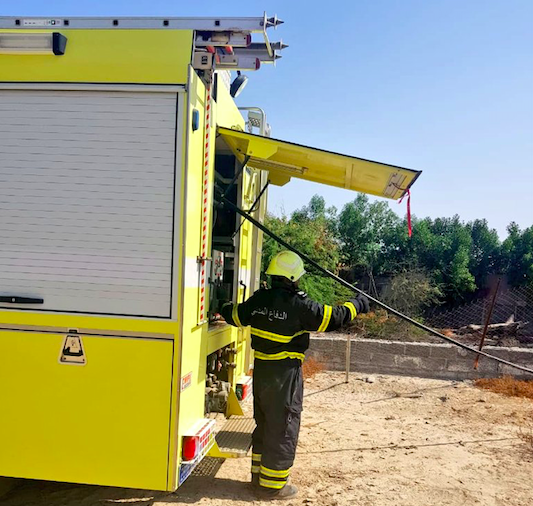 Fire breaks out in workers' housing in Musandam Governorate
