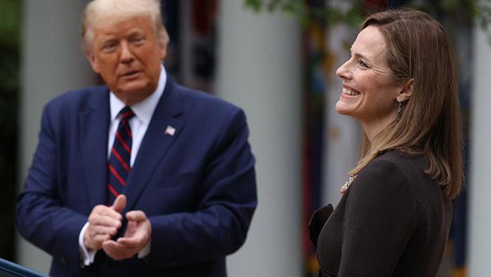 Trump picks conservative Amy Barrett for Supreme Court
