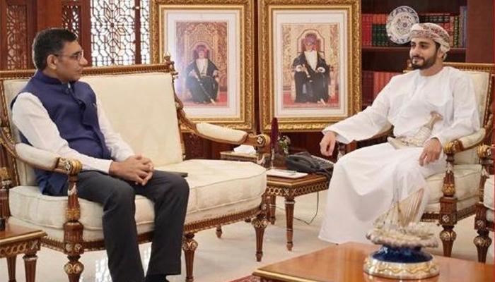 Sayyid Theyazin reviews bilateral ties with Indian ambassador