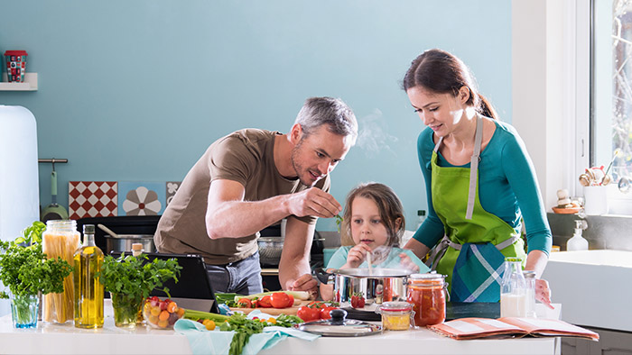 Simple tips to make family meals count