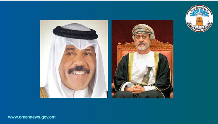 HM sends cable of condolences to new Emir of Kuwait
