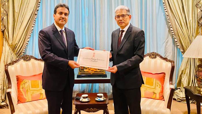 Oman's ambassador to Thailand presents credentials