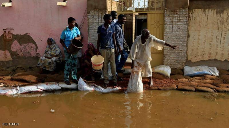 السودان يعلن حالة الطوارئ لمدة 3 شهور بسبب الفيضانات