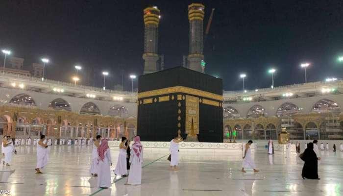 بالصور.. السعودية تستقبل أول أفواج المعتمرين