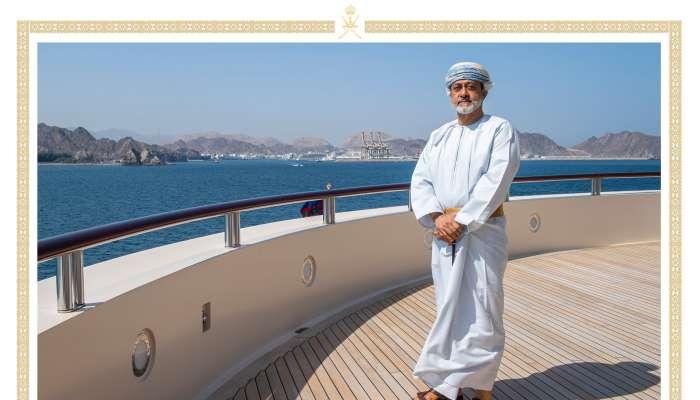 صور حديثة لجلالة السلطان على متن اليخت السلطاني آل سعيد
