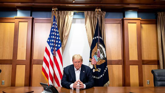 Trump eyes quick return amid COVID-19 treatment