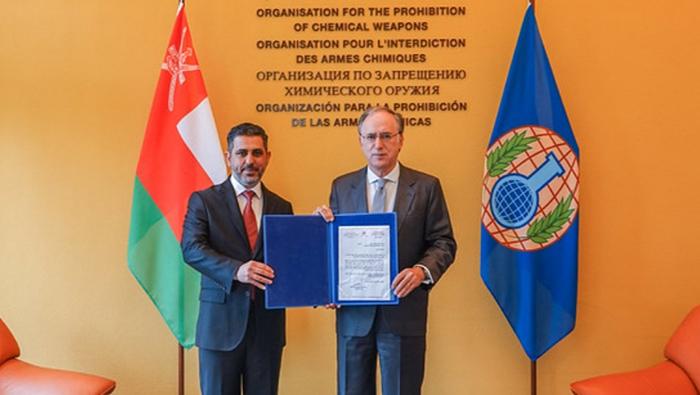 Credentials of Oman's ambassador received