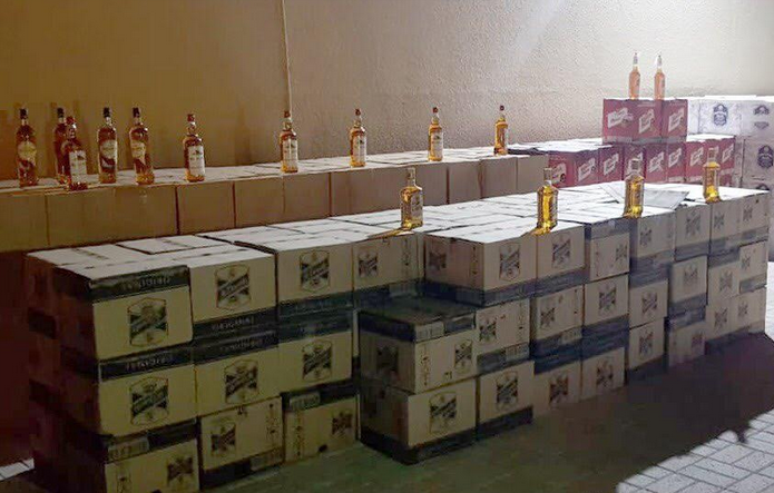 Over 18,000 bottles of alcohol seized in Oman