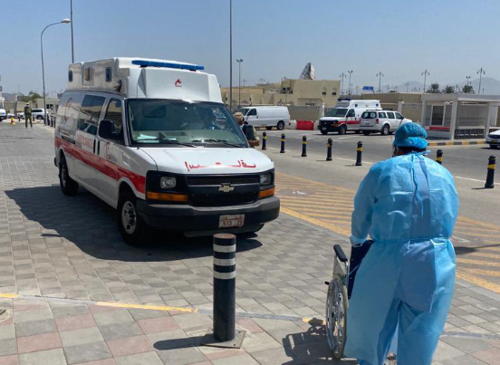 Covid-19 field hospital in Oman receives first cases