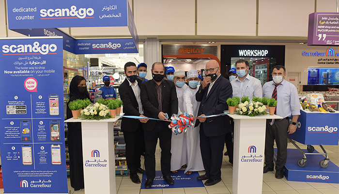 Carrefour helps customers skip long queues with Oman's first Scan&Go mobile service