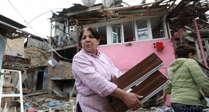 Half of Nagorno-Karabakh's population displaced by fighting