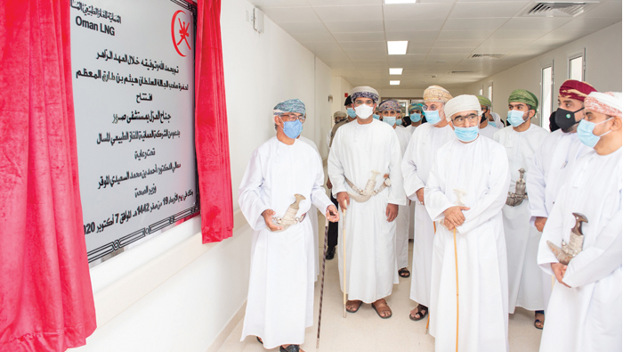 Isolation ward for COVID-19 patients launched in Sur