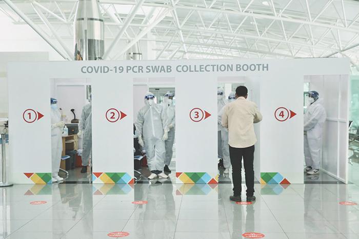 COVID-19 PCR test facility at Salalah Airport begins operation